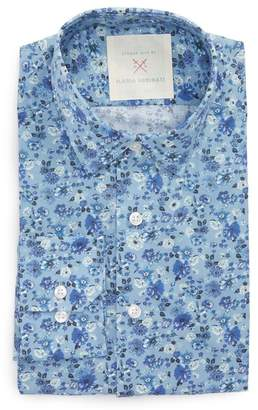 Nordstrom Strong Suit by Ilaria Urbinati Edmond Slim Fit Dobby Dress Shirt Exclusive)