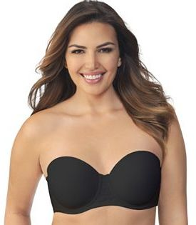 Vanity Fair Bra: Beauty Back Full-Figure Strapless Bra 74380 $42 thestylecure.com