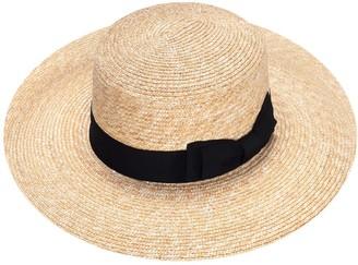 Justine Hats Summer Boater Hat