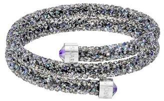 Swarovski Crystal Dust Studded Crystal Wrap Around Bracelet