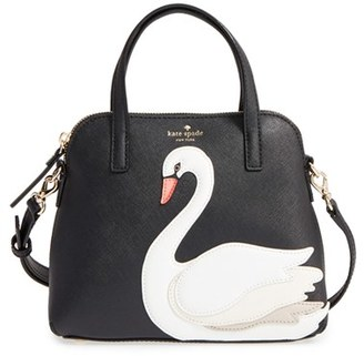 Kate Spade New York 'swan - Small Maise' Leather Satchel $298 thestylecure.com