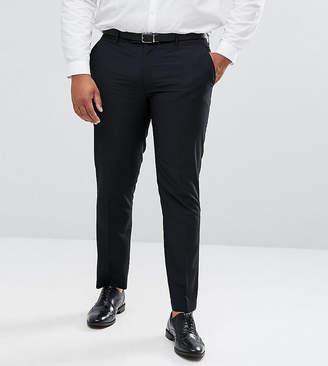 Farah Smart PLUS Skinny Suit Pants In Black