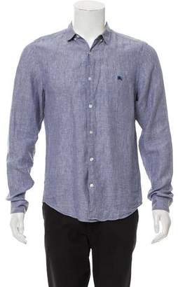 Burberry Casual Linen Shirt