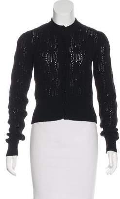 Max Mara Cashmere Knit Cardigan