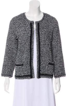 Gerard Darel Open-Front Knit Jacket