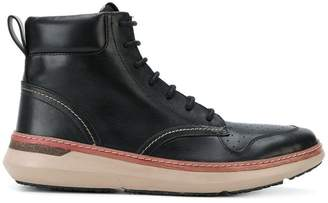 Armani Jeans lace-up ankle boots