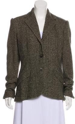 Ralph Lauren Purple Label Wool Tweed Blazer