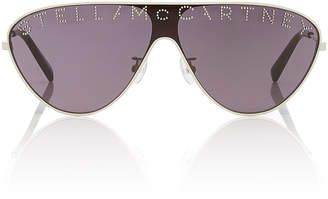 Stella McCartney Sunglasses Logo Stud-Embellished Aviator-Style Sunglasses