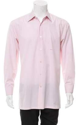 Charvet Point Collar Button-Up Shirt