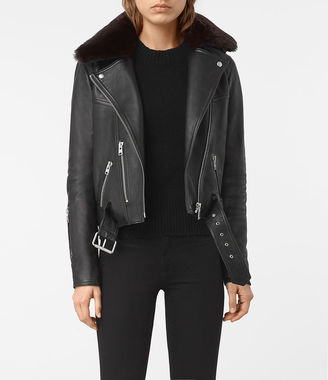 Rigby Leather Biker Jacket $740 thestylecure.com
