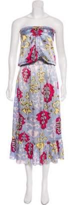 Alexis Strapless Midi Dress