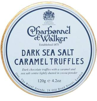 Charbonnel et Walker Dark Sea Salt and Caramel Truffles 120g