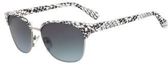 Diane von Furstenberg Women's Zianna 58mm Clubmaster Sunglasses