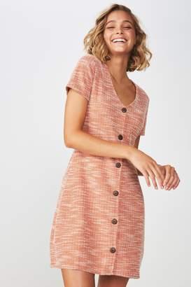 Cotton On Marlow Button Through Mini Dress 7c77da29a