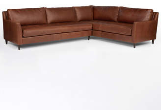 Rejuvenation Hastings Sectional Leather Sofa