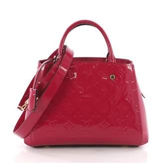 Louis Vuitton Montaigne Pink Patent leather Handbag