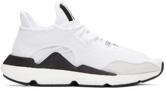 Y-3 White Saikou Boost Sneakers