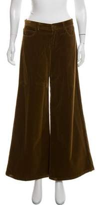 Ralph Lauren Black Label Mid-Rise Flared Pants