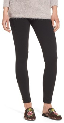 Women's Lush Zipper Leggings $45 thestylecure.com