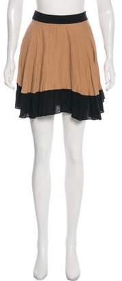 A.L.C. Colorblock Mini Skirt