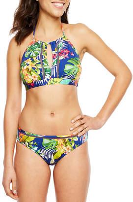 Liz Claiborne High Neck Swimsuit Top