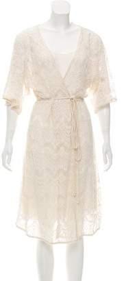Calypso Short Sleeve Lace Dress