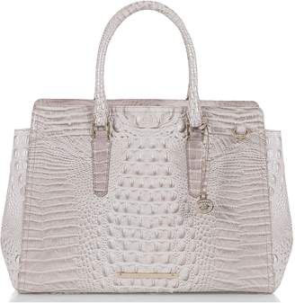 Brahmin Finley Croc Embossed Leather Tote