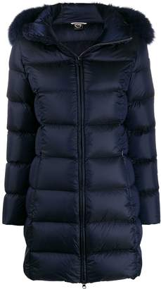 Colmar hooded puffer coat