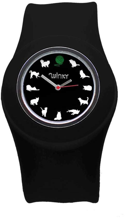 Winky Designs Cat Slap Watch