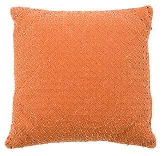 Bottega Veneta Woven Throw Pillow