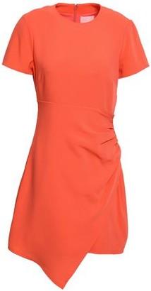 Cinq à Sept Ruched Crepe Mini Dress