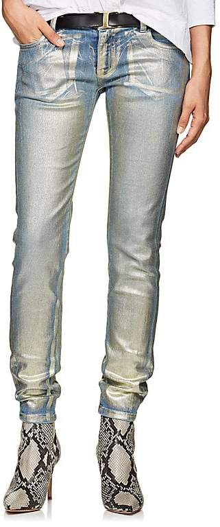 Women's Painted Skinny Jeans