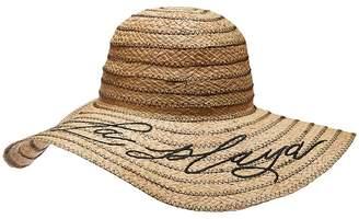 Michael Stars A La Playa Straw Floppy Hat Caps