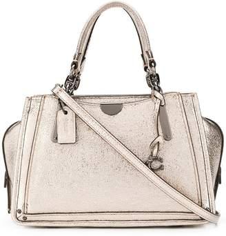 Coach dreamer crinkled satchel bag