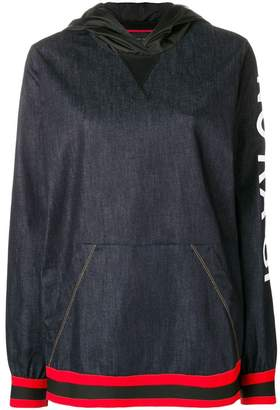 NO KA 'OI No Ka' Oi printed sleeve hoodie