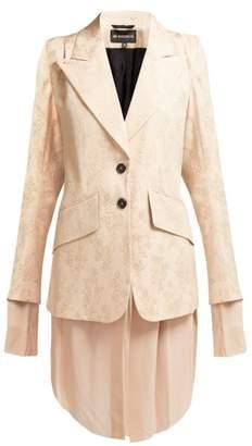 Ann Demeulemeester Rosalia Jacquard Blazer - Womens - Pink