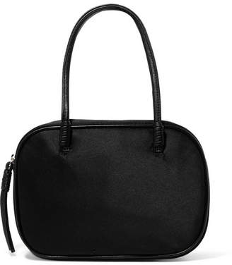 Elizabeth and James Dorina Mini Satin Tote - Black