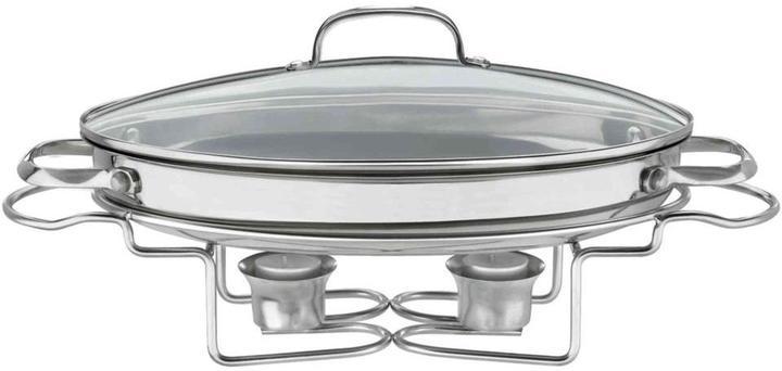 CuisinartCuisinart Classic Entertaining 13.5 in. (2.5 Qt.) Stainless Oval Buffet Server