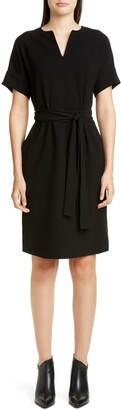 Lafayette 148 New York Jubilee Stretch Crepe Dress