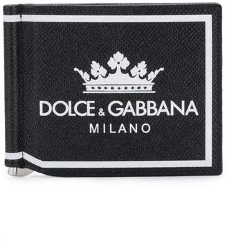 Dolce & Gabbana crown logo card holder