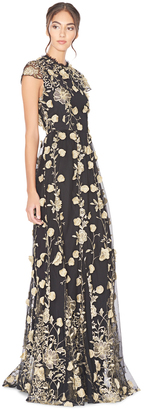 Aaliyah Open Back Gown $995 thestylecure.com
