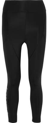 Fendi Roma Printed Stretch Leggings - Black