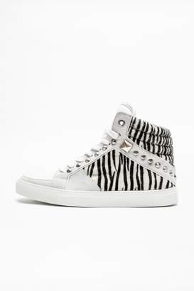 Zadig & Voltaire Zadig Voltaire Zv1747 Mid Safari Sneakers