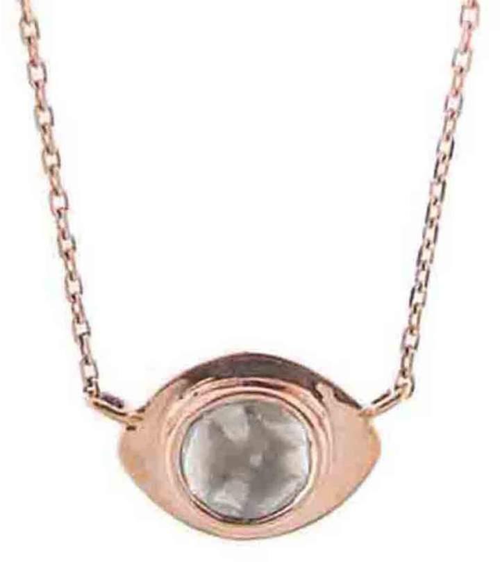 CelineCeline Daoust Polki Diamond Evil Eye Necklace