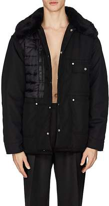 Maison Margiela Men's Deconstructed Oversized Puffer Coat