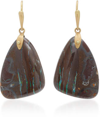 Annette Ferdinandsen 18K Gold Yahwah Opal Earrings