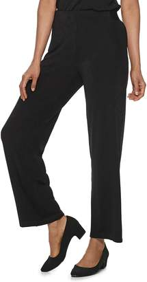 Dana Buchman Women's Travel Anywhere Pull-On Pants
