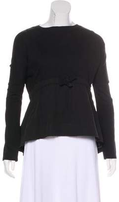 Victoria Beckham Victoria Long Sleeve Knit Sweater
