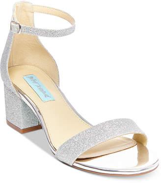 Betsey Johnson Blue By Miri Evening Sandals