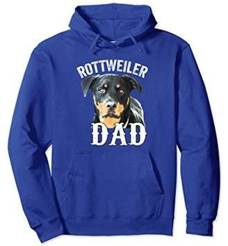 Rottweiler Dog Dad Pullover Hoodie